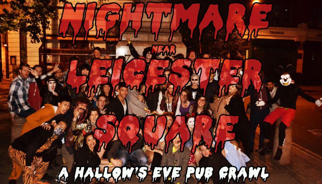 Great Halloween Events London 2016 - Halloween Pub Crawl