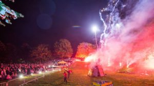 Great Halloween Events London 2016 - Vauxhall Pleasure Gardens Fire Festival