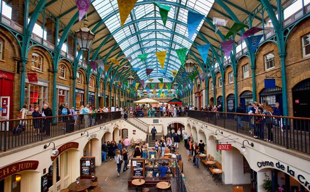 Top 10 Interesting Facts About London - Covent Garden is a spelling mistake
