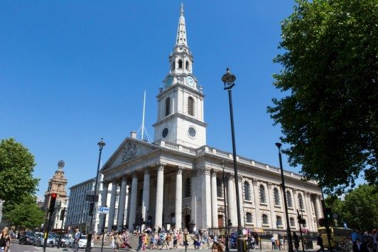 Top 10 Interesting Facts About London - The Centre of the City at Trafalgar Square Central London