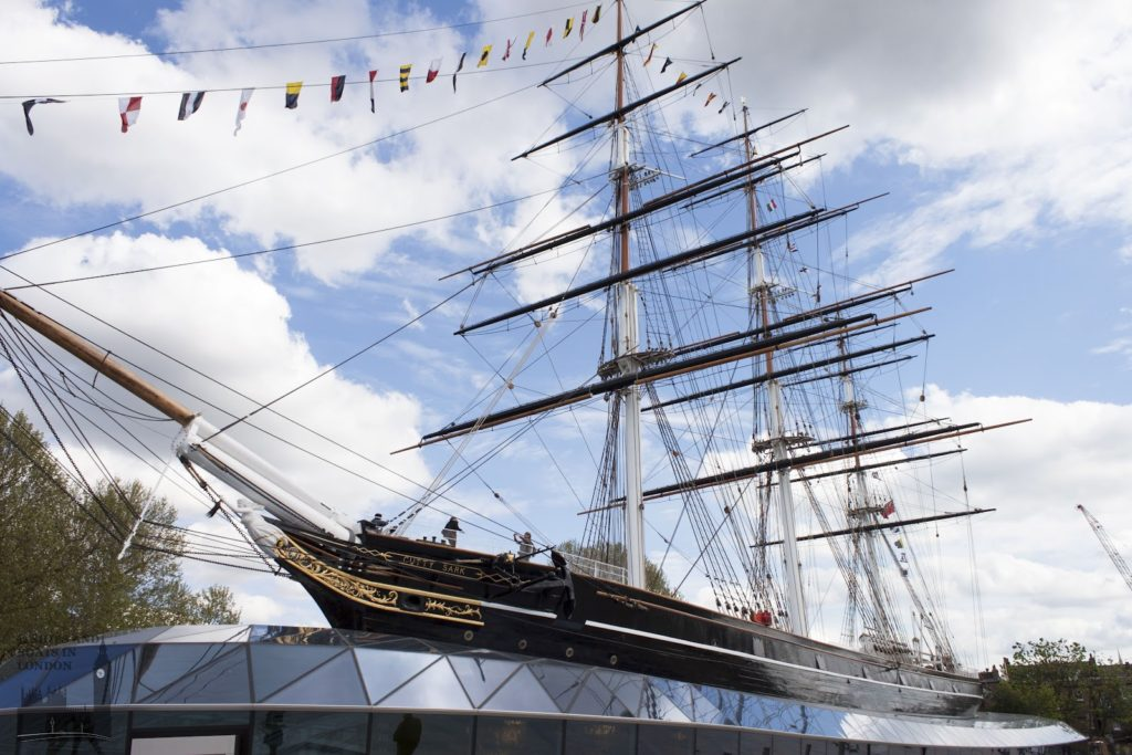 Top 10 Interesting Facts About London - The Cutty Sark Greenwich is the last intact clipper ship in the world