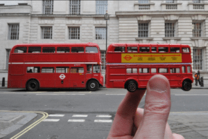 Top 10 Interesting Facts About London - The Red London Bus was Born in 1907