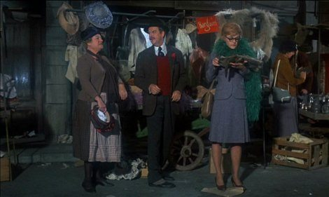Bedknobs & Broomsticks Portobello Road Famous London Film Set