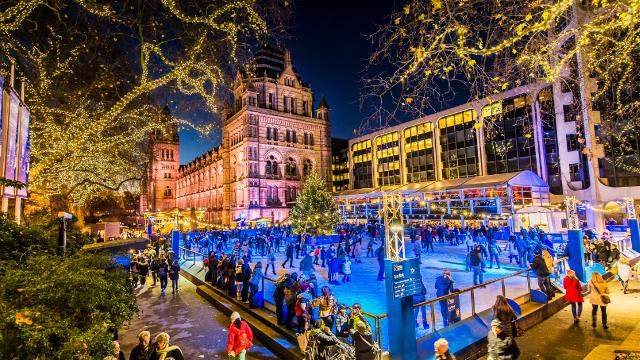 Best Things To Do In London Christmas 2016 - London Ice Skating Rink National History Museum