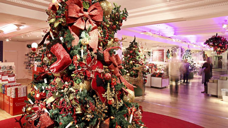 Best things to do in london this christmas urban stay for Best places for christmas shopping