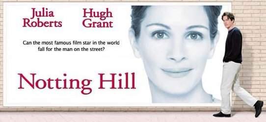Notting Hill London Film Set Portobello Road Blue Door