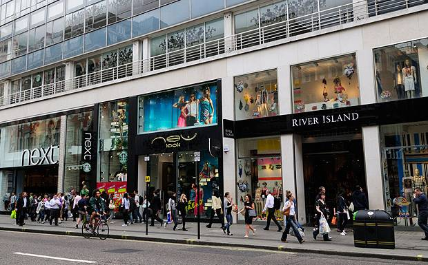 Oxford Street London's Busiest Shopping Street