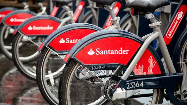 Exploring London by bike - Santander cycles app