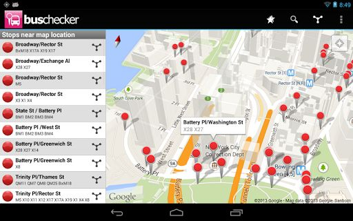 London UK Bus Checker App - Live Bus Arrival App