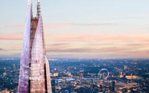 The View From The Shard Valentine's Day London