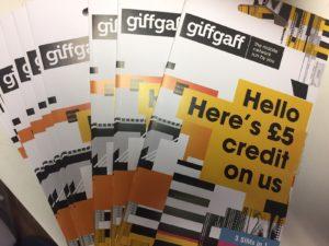 Free GiffGaff Sim Card in London Serviced Apartments - Urban Stay