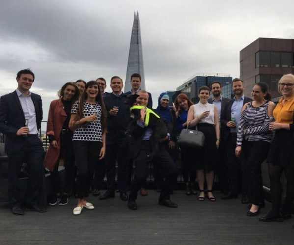 Urban Stay's Summer Party London 2017 In our Lovat Lane Serviced Apartments with Views of The Shard