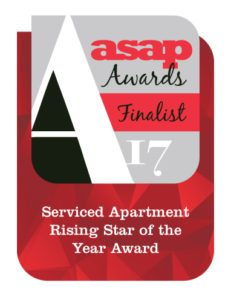 Urban Stay James Swift Shortlisted Asap Rising Star Of The Year 2017 Award Serviced Apartments London And Corporate Accommodation