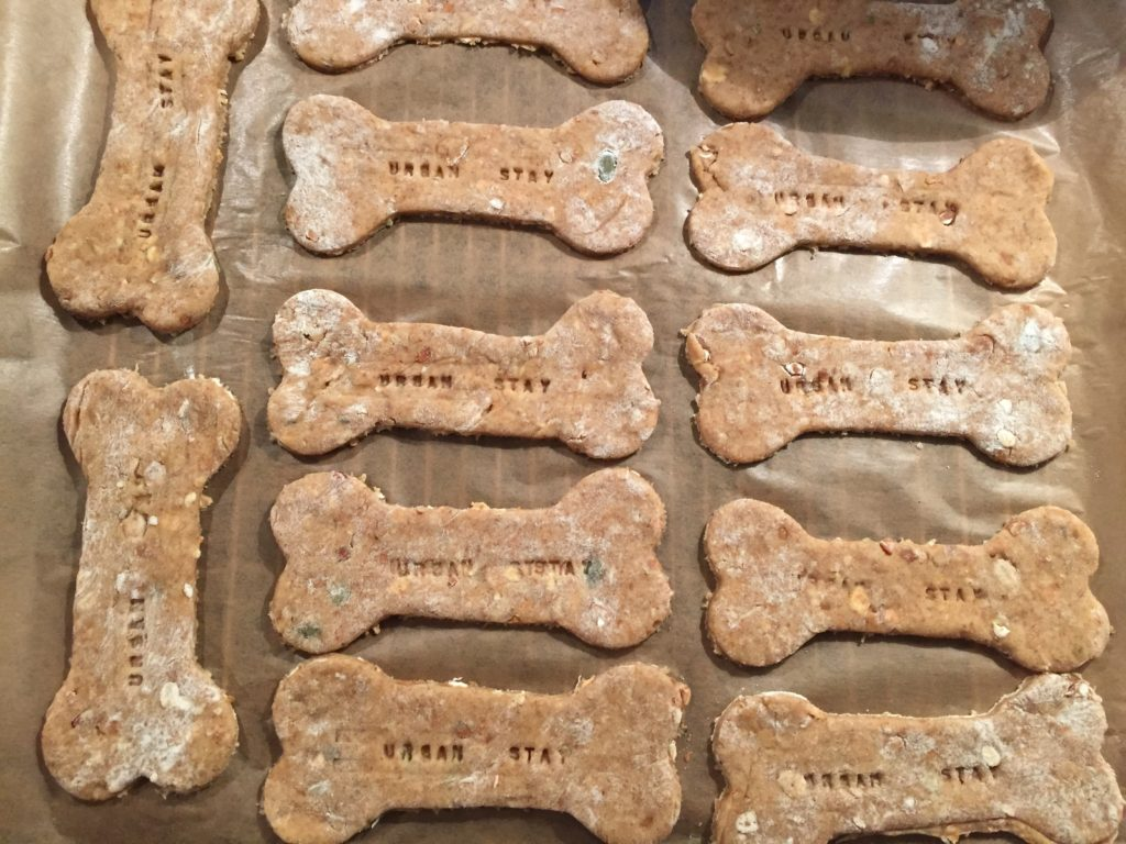 Urban Stay Serviced Apartments London Homebaked Customised Personalised Dog Biscuits