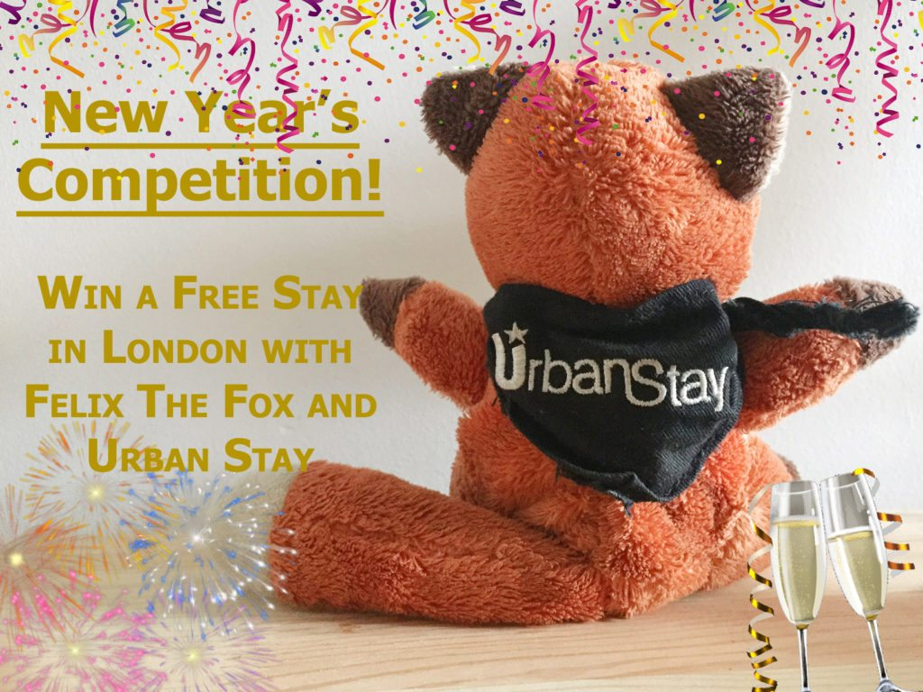 New Year's Competition Win A Free Stay In London With Felix The Fox And Urban Stay Serviced Apartments London