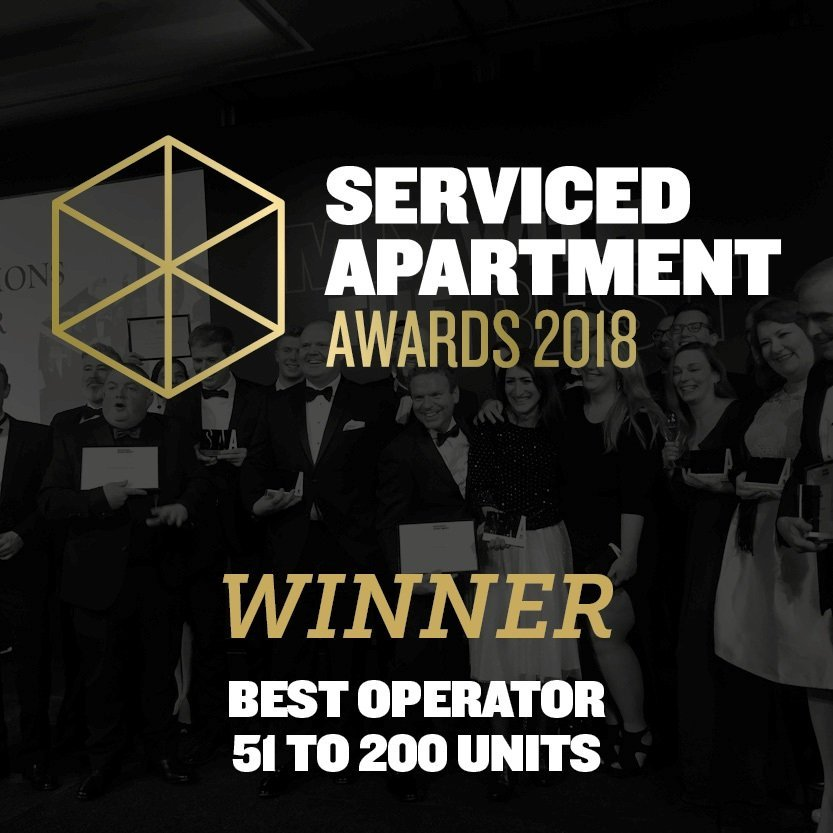Urban Stay Wins International Serviced Apartment Award 2018 As Best Serviced Apartments Company Worldwide