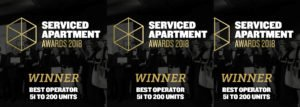 Urban Stay Wins International Serviced Apartment Awards 2018 As Best Operator 2