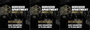 Urban Stay Wins International Serviced Apartment Awards 2018 As Best Operator 2