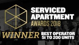 Urban Stay Wins International Serviced Apartment Awards 2018 As Best Operator