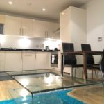 Looking for the Best Short Let Accommodation Canary Wharf? Book our Denison House Serviced Apartments in London's Docklands now! Gym, Lift, Wifi, Balcony | Urban Stay