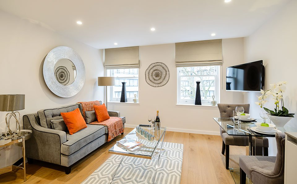 Modern Kensington Serviced Apartments - Ashburn Gardens - Book With Urban Stay For Low Rates!!! - Free Wifi - CCTV - Weekly Linen Clean