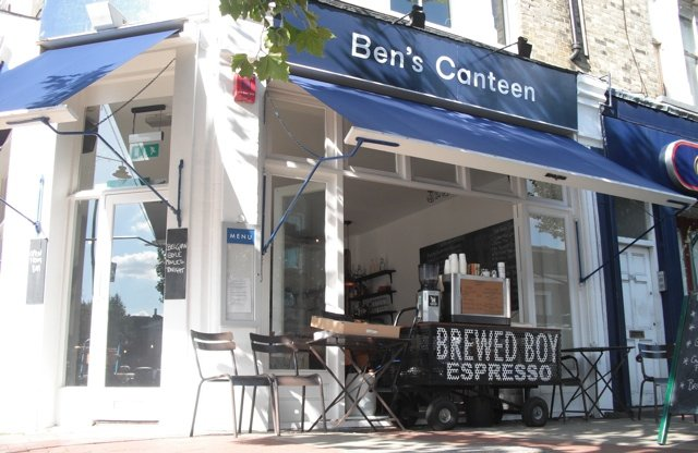 Bens Canteen Battersea Dog Friendly 640