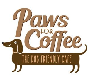 Pawsforcoffee Logo White 0