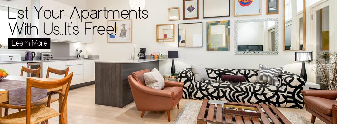 Advertise Your Serviced Apartment With Urban Stay]