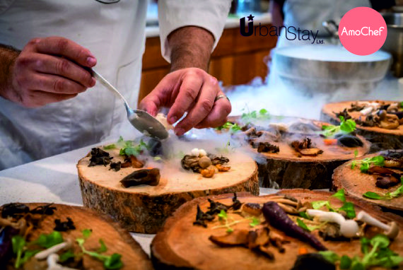 Private Chef Hire London Fine Dining In Serviced Apartments Amochef Vip Corporate Experience Urban Stay 2