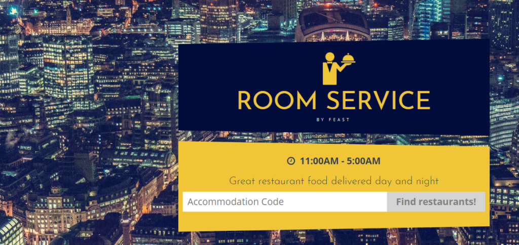 Urban Stay Launches 24/7 Room Service in All London Serviced Apartments! Urban Stay have partnered with Feast to offer a range of classic gourmet meals!