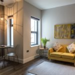Cardiff Serviced Apartments- Book Short Let Luxury 4* Accommodation near Cardiff University, Cardiff Castle & Bute Park with Aircon, Lift, Wifi & Smart TV!