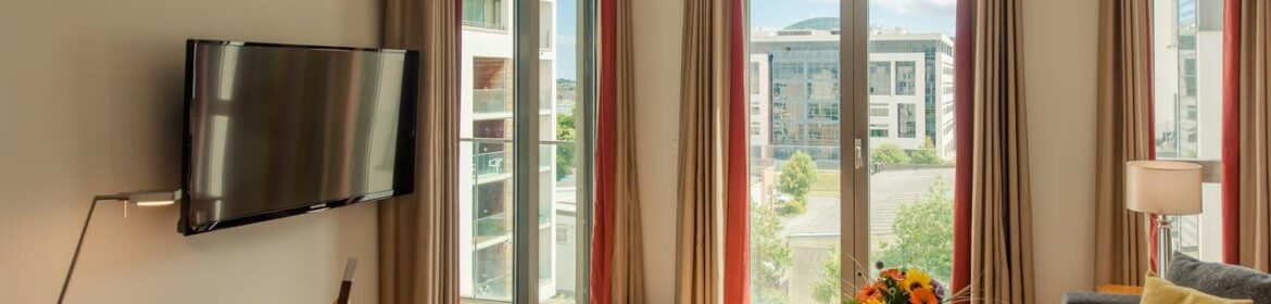 Short Let Accommodation Dublin - Sandyford Serviced Apartments Ireland - Cheap Corporate Accommodation with Parking, Reception and wifi | Urban Stay
