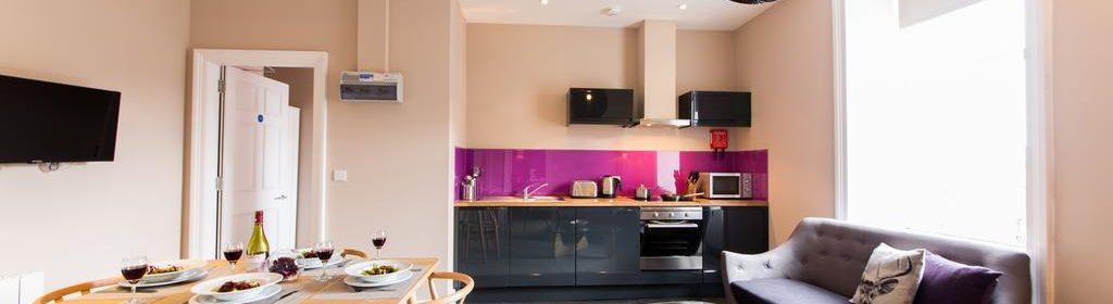 Edinburgh Accommodation Hanover Street Apartments UK near National Gallery of Scotland Urban Stay 11