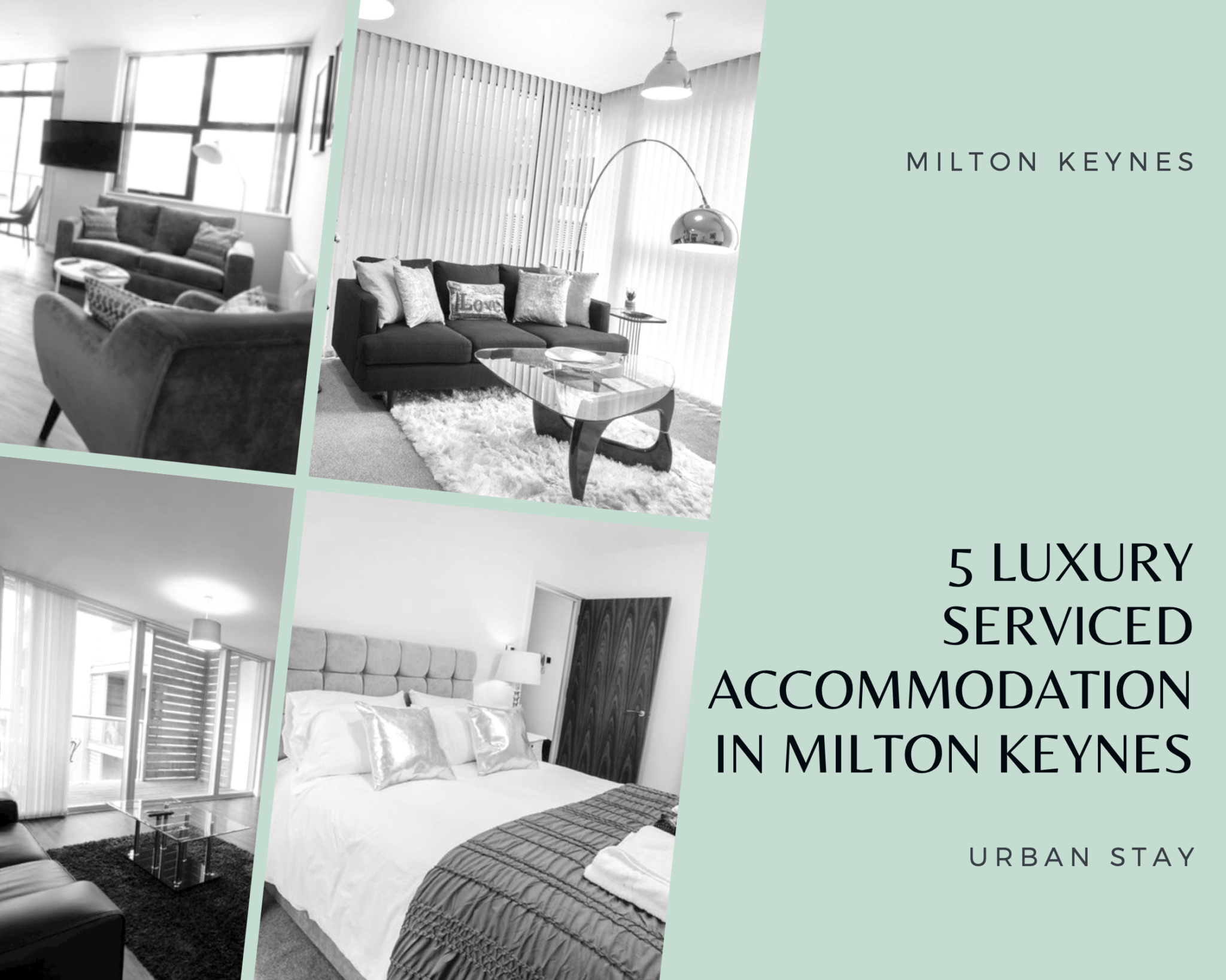 If you're looking to stay in Grandeur accommodation while you stay in Milton Keynes, one of these top 5 Luxury apartments are your perfect place to stay in!